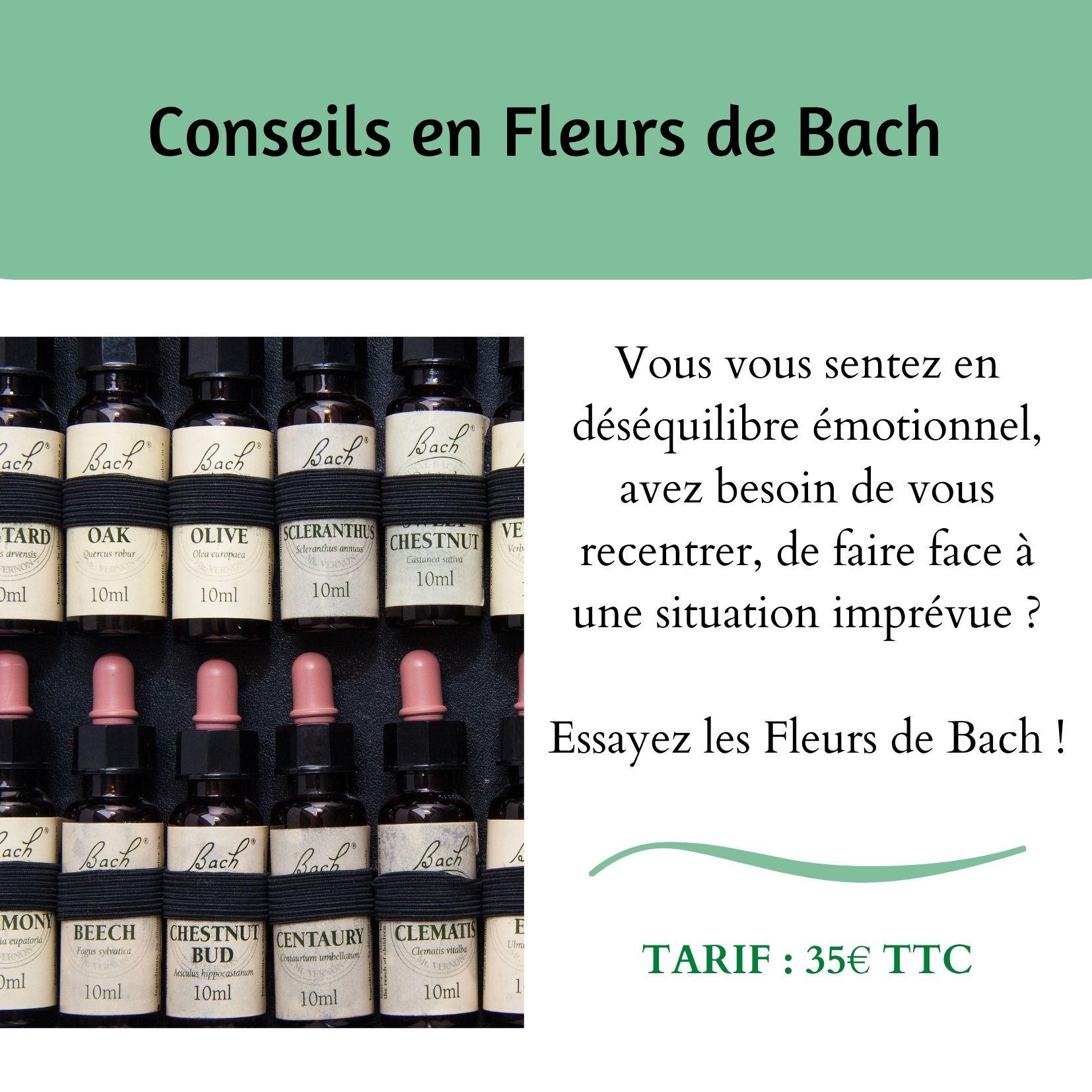 Conseils Fleurs de Bach - Humains