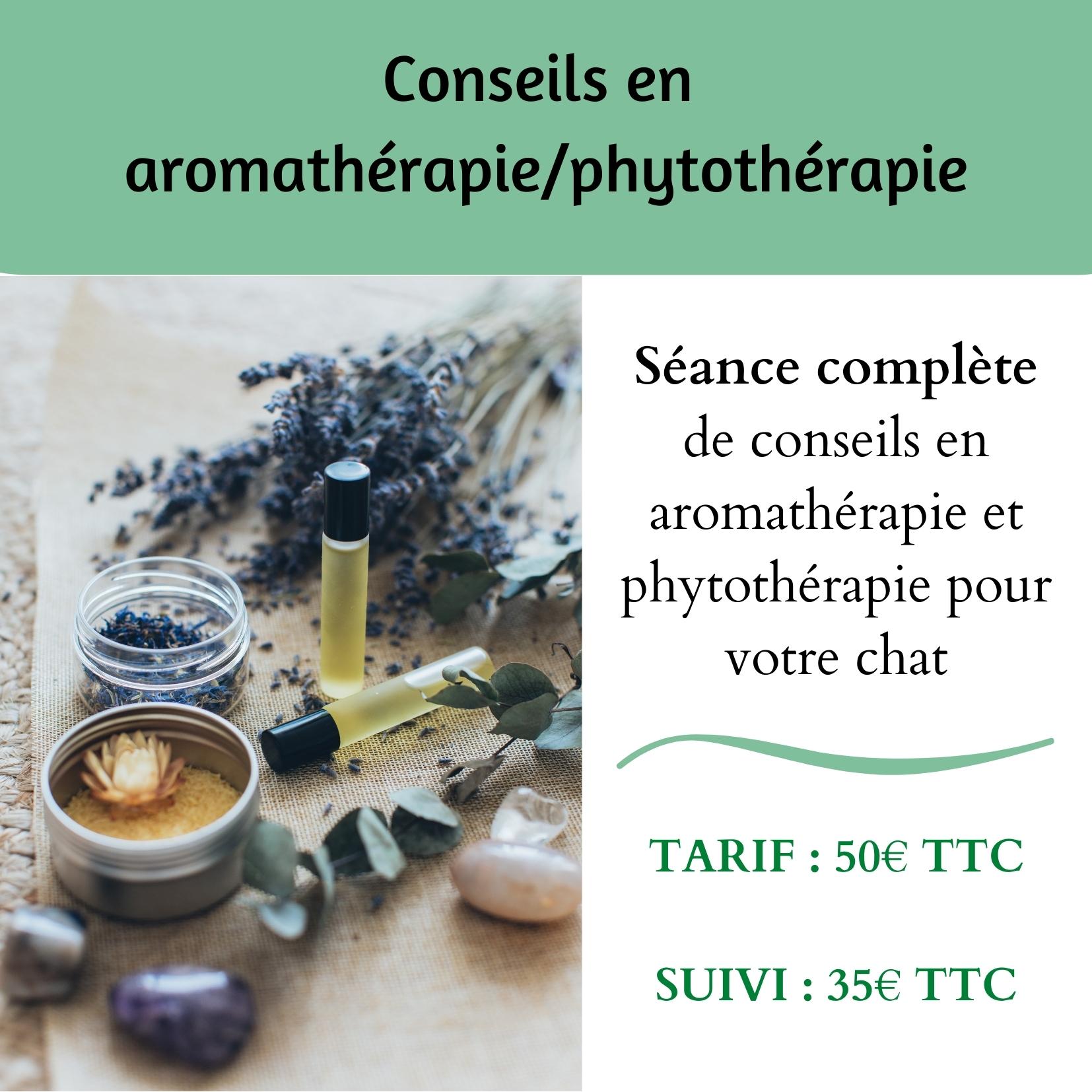 Conseils en aromathérapie & phytothérapie